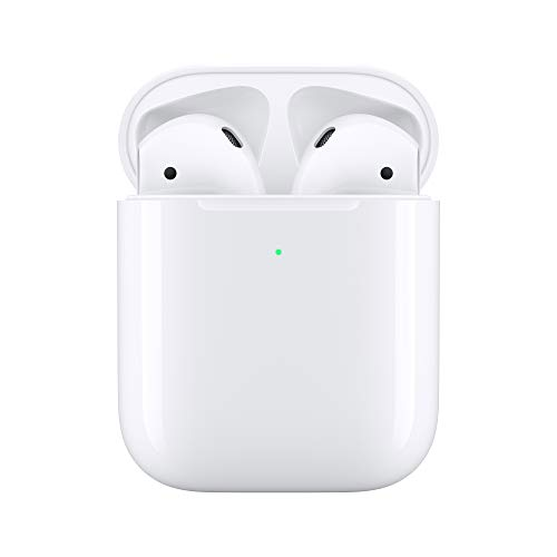 comparador Apple AirPods con estuche de carga inalámbrica