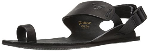 VIVOBAREFOOT Kolhapuri, Womens Leather Loop Sandal, with Barefoot Sole