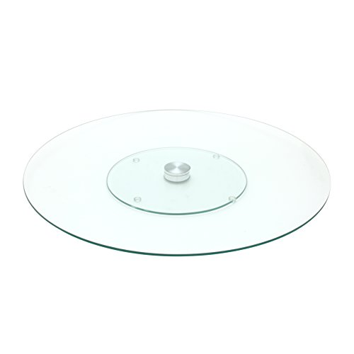 Saveur et Degustation ka1741Bandeja Cristal Transparente 45,50X 45,50X 2,90cm