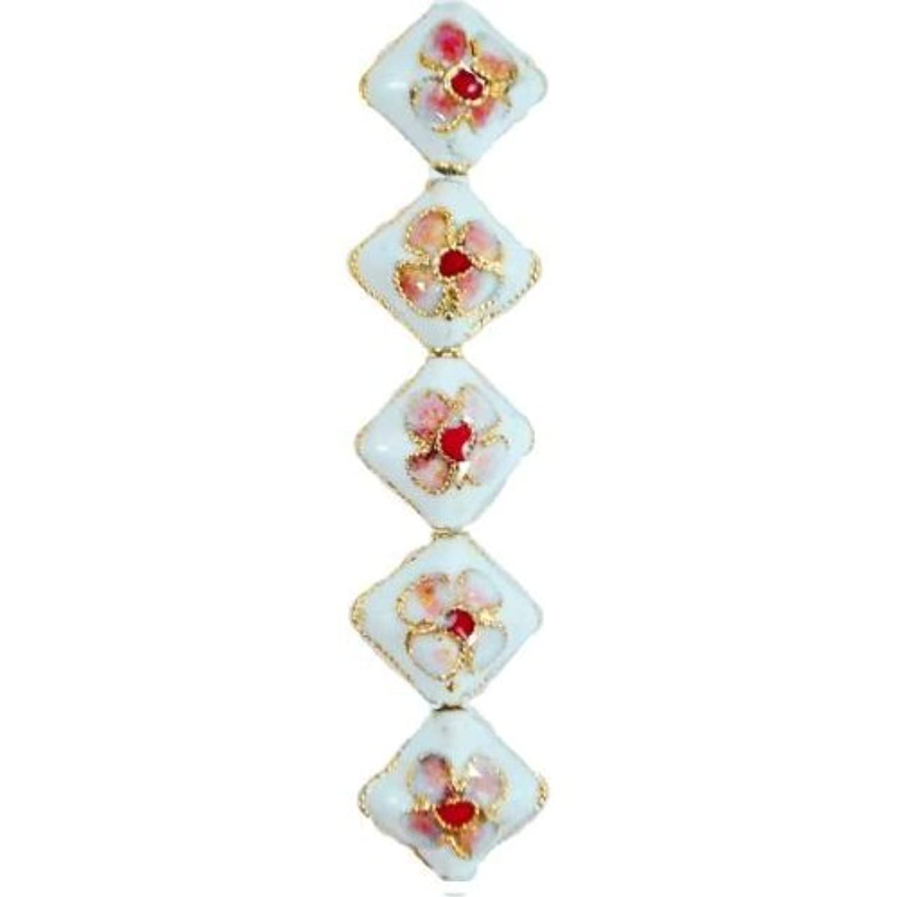 Expo BD51810 Cloisonne Beads, 14-Pack