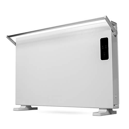 Electric Stove Heater Convecteur Chauffage - Radiateur de Salle de Bain Silencieux, à économie d'énergie, pour Montage à la Maison ou au Bureau (900~2200w)