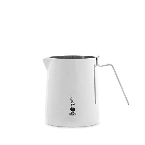 Bialetti Nuovo Elegance 50cl Milk Pitcher 50 cl, Bollilatte, Acciaio, 500 milliliters, Metallo, Argento