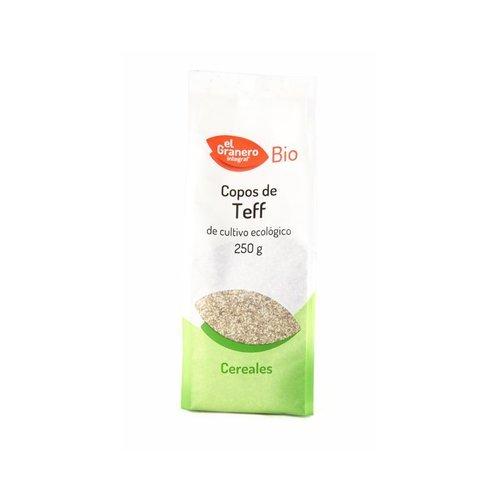 Copos de Teff Bio 250 gr de El Granero Integral