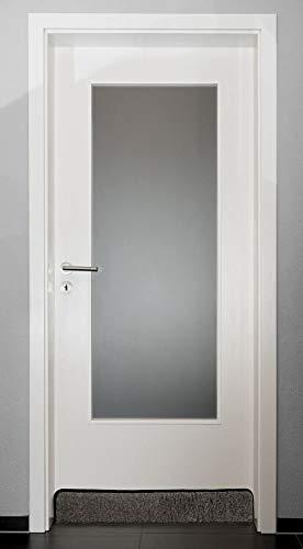 Sesua Zugluftstopper Windstopper Universal Tür und Fenster Schurwolle 100x16,5x5cm (Anthrazit) mit Klettband