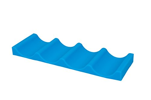 Senmubery Vert Silicone Epluche Ail en Silicone 13 X 4 cm Nettoyage Facile