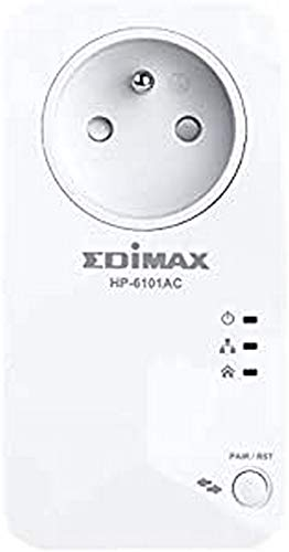 Kit 2 PLC/Powerline EDIMAX HP-6101ACK 500MBPS WiFi
