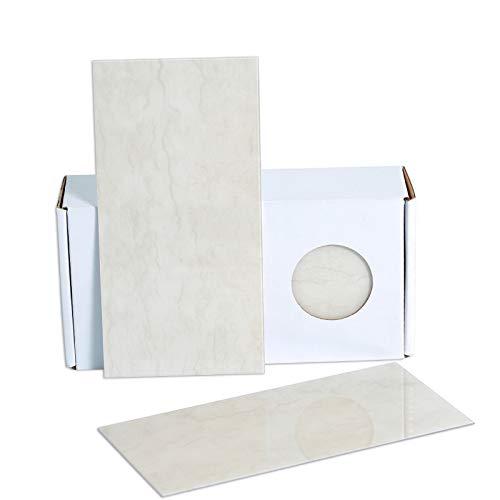 "BeNice Subway Stick Tiles Bathroom Peel Stick Backsplash,Self Stick Wall Tiles Sticker Kitchen Splashback Waterproof 3.85""x7.83'(23Tiles White Smoke)"