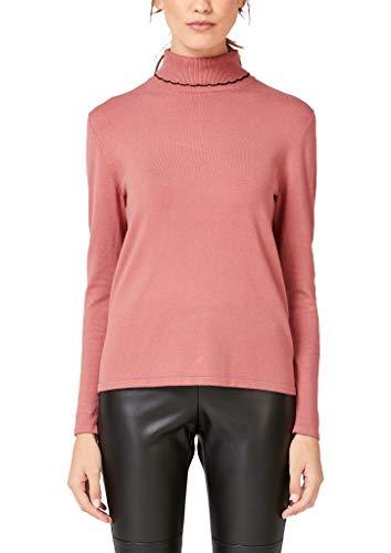 s.Oliver BLACK LABEL Damen 11.910.61.6205 Pullover, Rosa (Pink Fusion 2074), (Herstellergröße: 40)