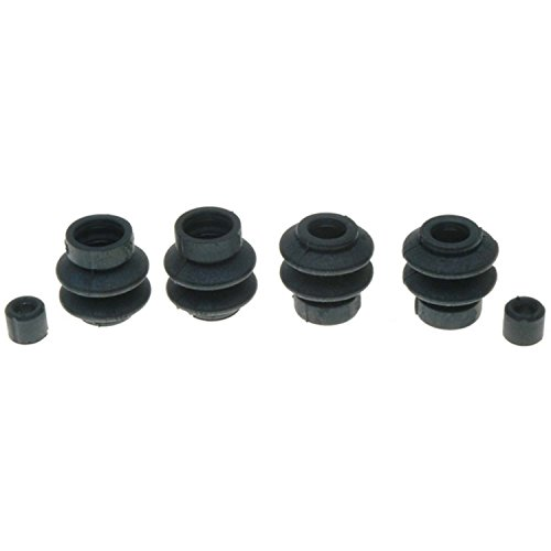 ACDelco 18K2124 Professional Rear Disc Brake Caliper Rubber Bushing Kit with Seals and Bushings