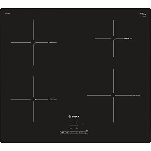 Bosch pie611bb1e Plaque – Plaque (intégré, induction, Verre, Noir, Verre, toucher)