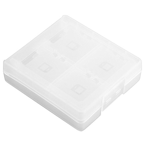 Theo&Cleo For Nintendo DSI DS Lite White 16 IN1 Game Card Case Holder Box