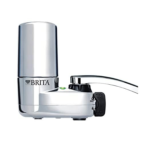 Brita Basic Faucet Water Filter System,...