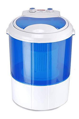 Hilton 3 kg Single-Tub Washing Machine with Spin Dryer (Blue)