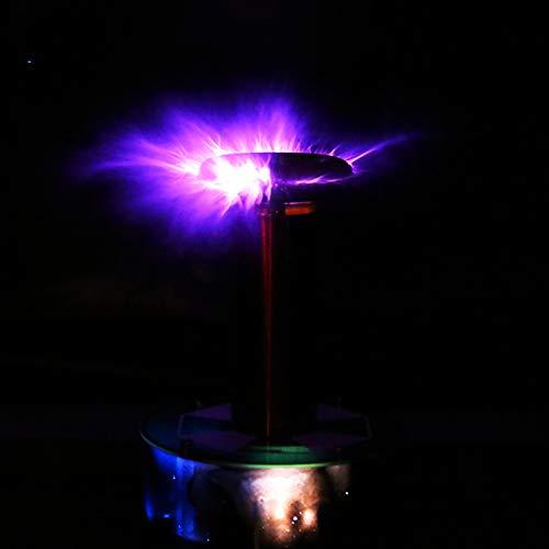 Bobina Tesla Generador De Rayo Artificial, Bobina De Tesla De Estado Clásica Sólido, Bobina Tesla Kit Transmisión inalámbrica.
