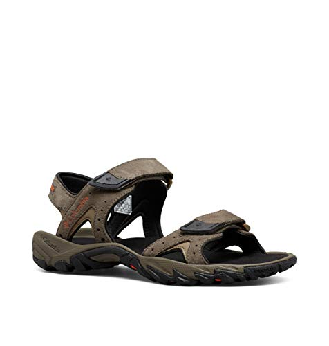Columbia Men's SANTIAM 2 Strap Sport Sandal, mud, Heatwave, 11 Regular US