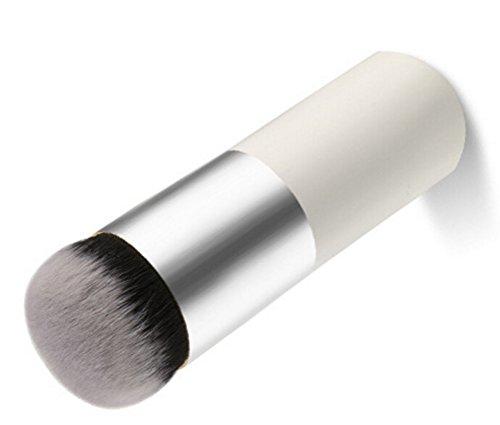 Treestar multifonction Grande tête ronde Tampon de dessus plat Fond de teint Brosse de Maquillage Poignée en bambou Fard à joues en poudre bronzante Maquillage Brosse platine Outil de maquillage