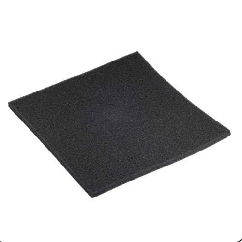 Fablcrew. Biochemischer Schaumstoff-Filter, für Fischfilter, Schwarz, 50 x 50 x 2 cm, 1 Stück