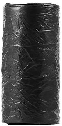 WOHAO Sac à Main Garbage Bags18Pcs Rubbish Sacs à ordures for la Cuisine Can Garbage Points jetables Épaississement Plates Sacs à ordures Accueil Sac fourre-Dustbin Bureau (Color : Black)