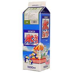 ホーマー 氷みつ抹茶 1000ml紙パック×12本入×(2ケース)