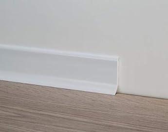 Foto di Battiscopa PVC - Profilpas - 20 pezzi (Bianco)