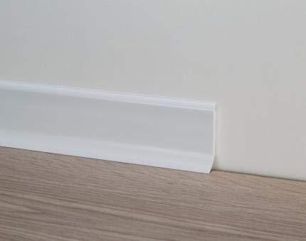 Battiscopa PVC - Profilpas - 20 pezzi (Bianco)