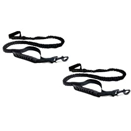 Benbulben – Bungee Dog Lead Twin Pack Reflective for Walking, Training & Anti Shock Pull – 2PCs