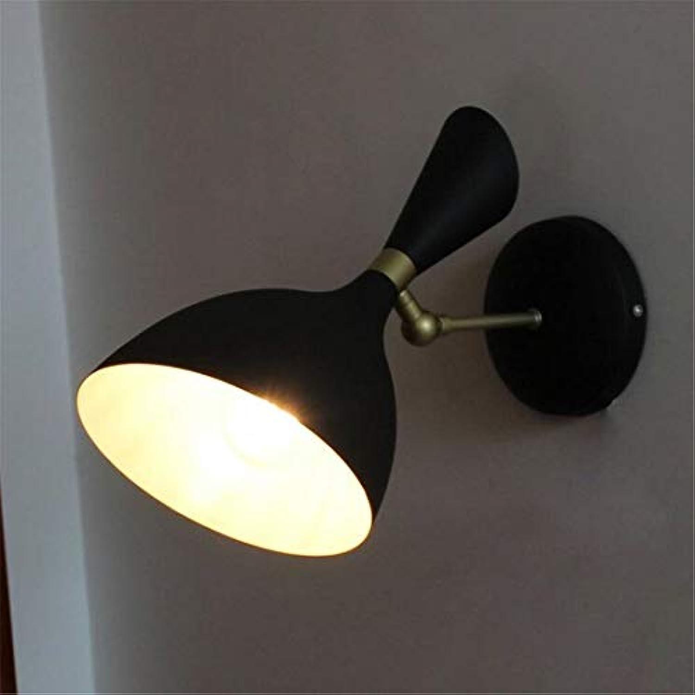 Led Wand Lichtkreative Einstellbare Schwenkarm Wandleuchte Kreative Persnlichkeit Schwarz 1-kopf Metall Wandleuchte