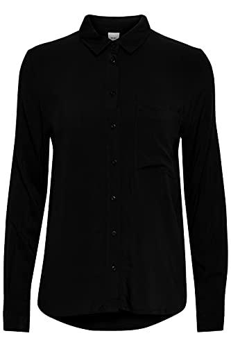 ICHI IHMAIN SH Blusas, 194008/negro, 38 para Mujer