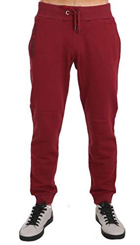 Versace Herren Trainingsanzug Rot burgunderfarben Gr. X-Large, burgunderfarben