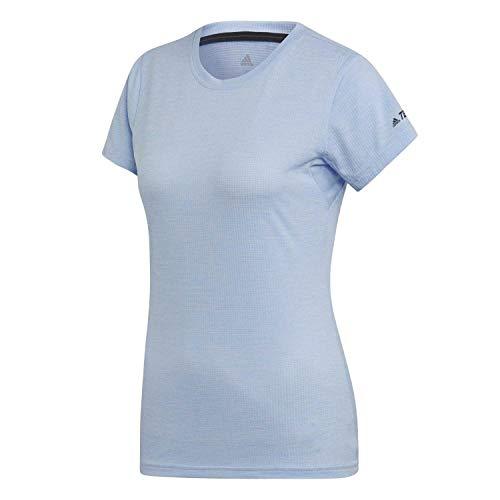 adidas Damen Tivid Funktionsshirt blau 40