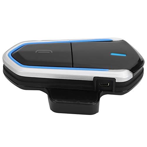 Vipxyc Intercomunicador Bluetooth Casco de Motocicleta Auriculares Bluetooth 4.1 Intercomunicador Auriculares inalámbricos Impermeables con micrófono Auriculares estéreo Bluetooth para Deportes al