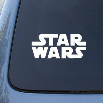 Sticker star wars movie logo-car, truck notebook decal stickers #2527 vinyle