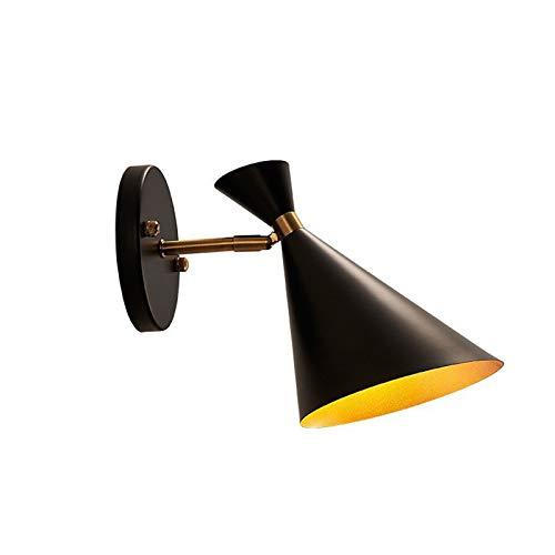 YUEBAOBEI Lámpara De Pared Industrial, Lámpara E27 Pared Ajustable, Lámpara Pared Creativo, para Cocina Cafetería Bar Sala Estar Loft(Sin Bombilla)