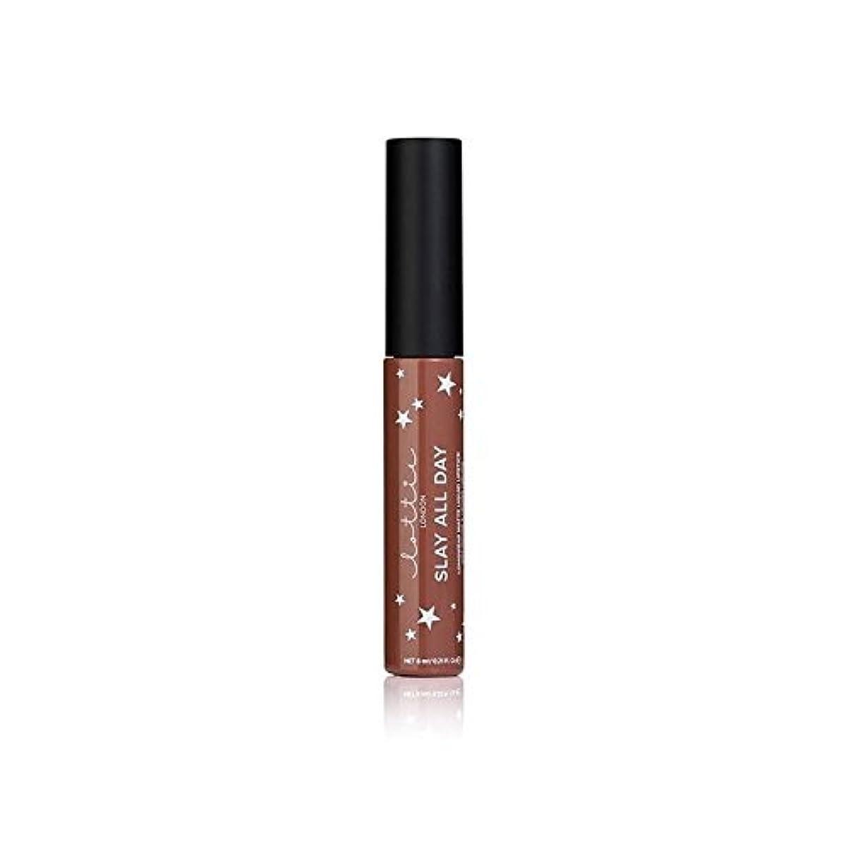 褒賞優雅回想Lottie London Matte Liquid Lipstick - Hey Bae (Pack of 6) - ロンドンマット液状口紅 - ちょっとペ x6 [並行輸入品]