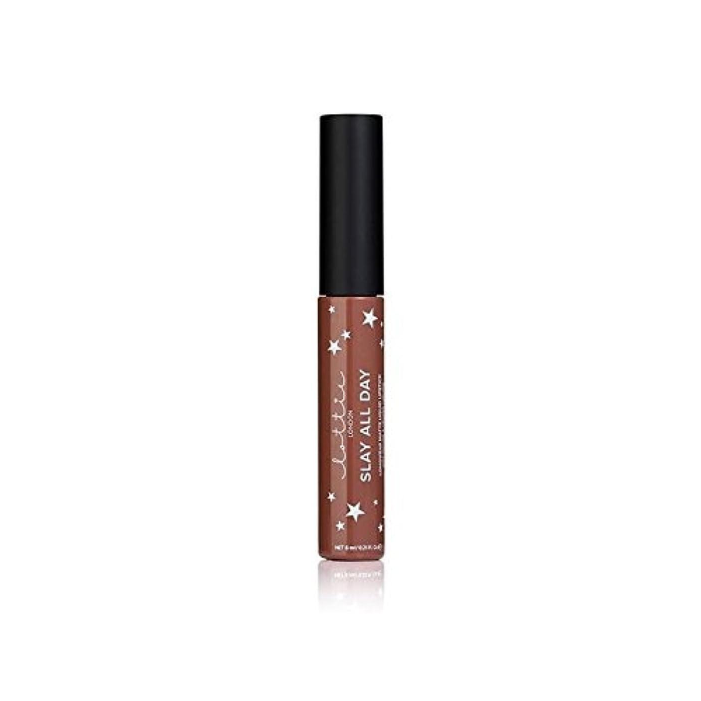 日常的にソビエトロケーションLottie London Matte Liquid Lipstick - Hey Bae - ロンドンマット液状口紅 - ちょっとペ [並行輸入品]