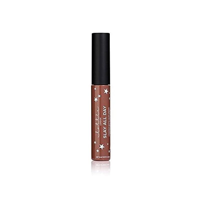 保護するベットセンチメートルロンドンマット液状口紅 - ちょっとペ x2 - Lottie London Matte Liquid Lipstick - Hey Bae (Pack of 2) [並行輸入品]