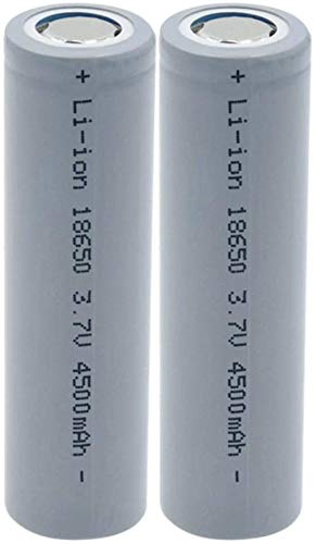 Batería De 3.7v 4500mah 18650 BateríAs Recargables De Alta Corriente De Alta Descarga De Litio De Iones De Litio para Linterna-2PCS