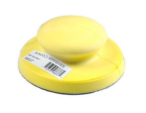 "Sungold Abrasives 98837 Hand Sanding Block For 5"" Psa-Stick-On Discs"