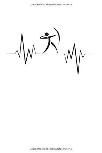 Bogenschießen Herzschlag: 6X9 Zoll Notizbuch – Liniert – Din A5 Heft Für Bogenschützen Mit 120 Seiten| Tagebuch Planer | Notiz Buch Geschenk Journal Notebook Logbuch
