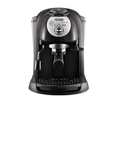 De'longhi EC201.CD.B - Cafetera de bomba tradicional (15 bar de presión, 2 tazas, café molido o filtros monodosis) negro