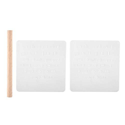 Cuero Diy Impresión de letras Talla Estampado Sello Alfabeto de cuero Digital Troqueladora Herramienta de perforación Punzonado Herramientas de mano Juego de manualidades