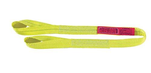 DURABULL 2 1 Ply Polyester Reversed Eye Synthetic Web Slings DRE1902P6Y