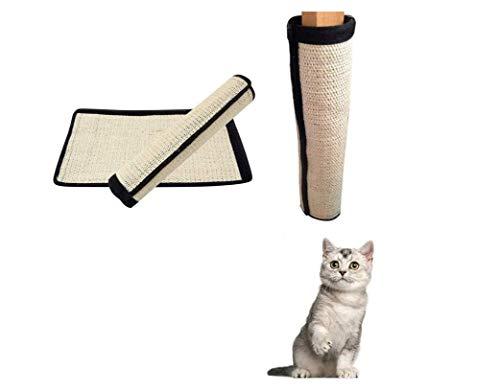 YUIP 2 Pcs uds Rascador de Gato Protector de Muebles Alfombrilla de Rasguño para Mascotas Accesorios de Protección para Sofá para Proteger el Sofá