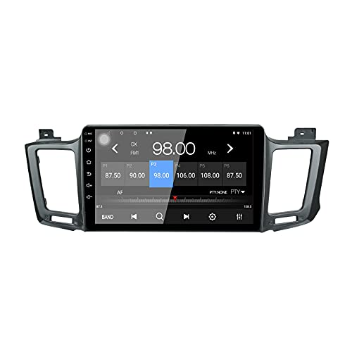 LEXXSON Android 10.1 Autoradio per Toyota RAV 4 2012-2017 | Radio da 10 pollici con navigazione GPS Wifi Bluetooth Lettore USB Controllo al volante Collegamento specchio Impostazione EQ Canbus 2G+32G
