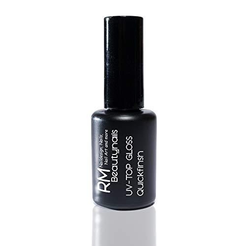 UV-Top Gloss Finish Gel 15ml Hochglanz Quickfinish ohne Dispensionsschicht Quick Finish