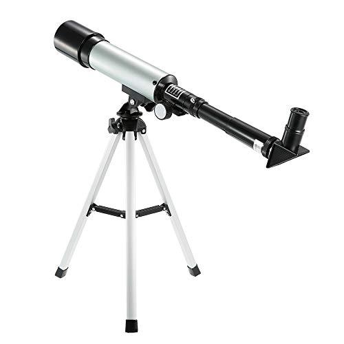 Telescopio Astronmico Monocular Al Aire Libre Monocular Telescpico Espacial con Trpode Porttil Alcance De Localizacin 360X50Mm