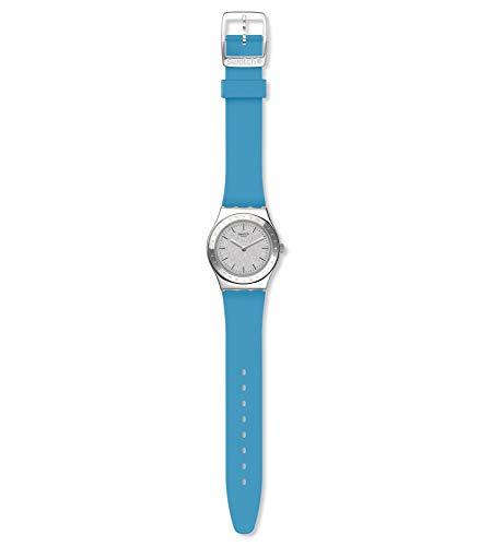 Swatch Reloj Analógico para Mujer de Cuarzo con Correa en Silicona YLS203