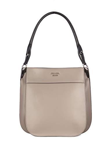 Luxury Fashion | Prada Dames 1BC076VWON2AIXF0N31 Roze Leer Schoudertassen | Lente-zomer 20