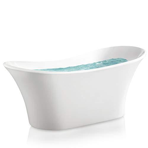 AKDY AZ-F274 Bathroom Freestand Acrylic Bathtub, White Color