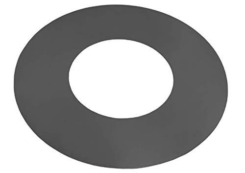 BlackOrange Grillplatte - Plancha aus Stahl Ø 102 cm mit Feuerloch Ø 50 cm für Feuerschalen mit 100 cm Durchmesser